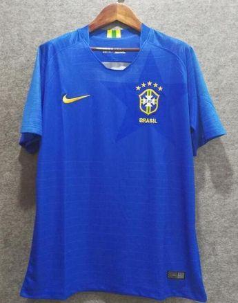 034748feb71 2018 Men Brazil Jersey Stadium Away Soccer Jersey World Cup Jersey Player