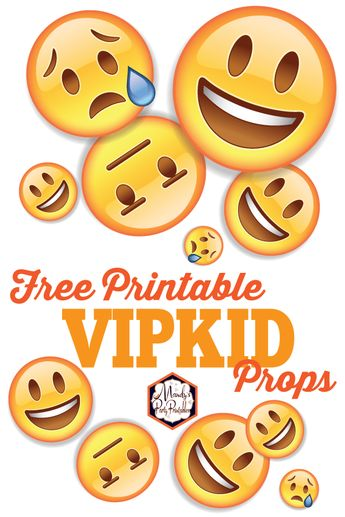 graphic regarding Vipkid Printable Props called VIP Little one Printable Props