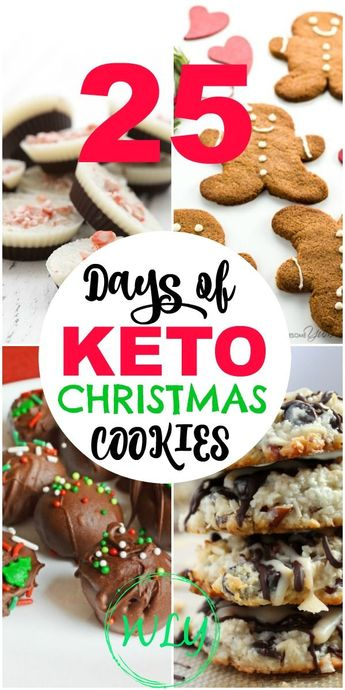 25 Days of the BEST Keto Christmas Cookies