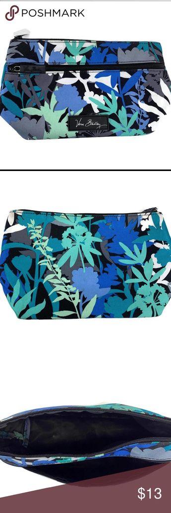 💄 Vera Bradley Makeup bag * Camofloral Print (retired)  * Lighten Up Cosmetic Bag Vera Bradley Bags Cosmetic Bags & Cases