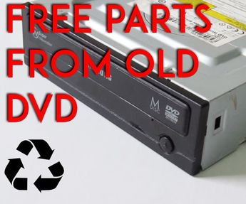 How to Salvage a DVD Drive for Free Parts