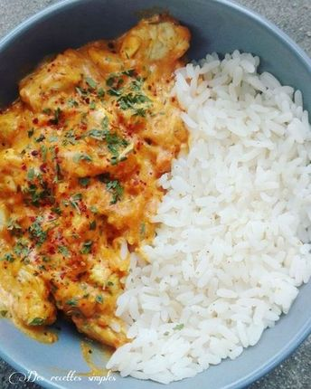 Curry de poulet à la tomate