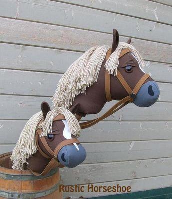 Mustang Stick Horse Hobby Horse and Unicorn | Bluprint