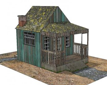 The Green Wood Cabin Paper Model - by Papermau - Download Now! - == -  This is the Green Wood House, a simple paper model in three sheets of paper. I don´t built this model, so I don`t know the exact scale, but I think it is something about 1/64 scale (the size of Hot Wheels miniatures).  The model is in PDF format and you can download it easily, directly from Google Docs.