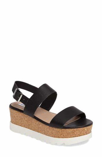 ffaf452aa88 Steve Madden Krista Platform Sandals ( 90) ❤ liked on Poly