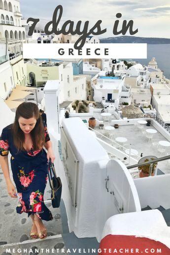 One Week in Greece