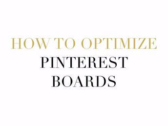 Pinterest Management Services: Optimize Boards to Rank High on Pinterest - Showit Blog