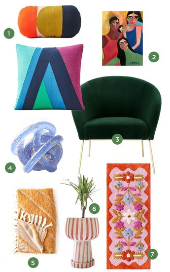 color adventures: jewel tones for the home.../ via Oh Joy!