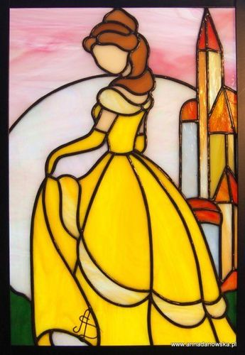 Who doesn't love a good Disney piece??? | Stained Glass Studio Ventura County