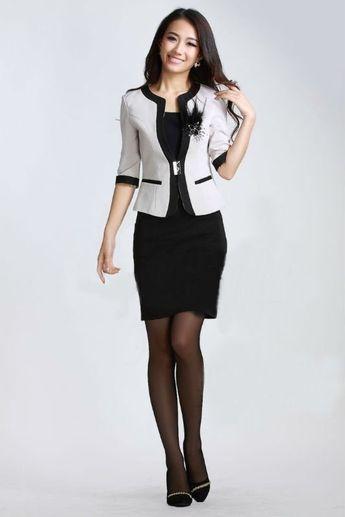 d1877d6e93 mujer ropa a medida trajes para dama de oficina 2012 la mujer .