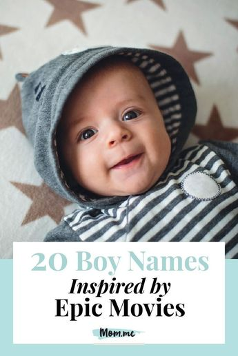 20 Boy Names Inspired by Epic Movies: These unqiue baby name ideas inspired by movies are totally Oscar-Worthy.