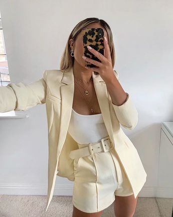 "LOUISA J. HEYWORTH on Instagram: ""Creamy 🍦 outfit is from @ohpolly & jewels are @astridandmiyu 🍦"""