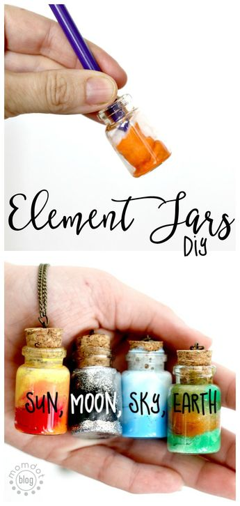 Create an Element Jar Necklace