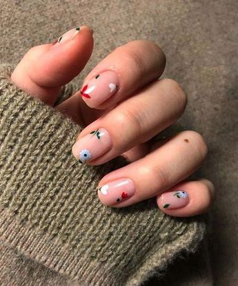 22 Spring Floral Manis You'll Want to Copy ASAP #Nailart