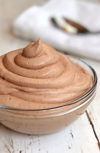 Easy Keto Chocolate Frosty (The BEST low carb dessert recipe, ever!)
