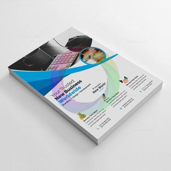 Simple Corporate Flyer - Graphic Prime | Graphic Design Templates