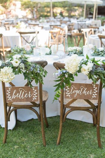 Better Together Chair signs, Mr and Mrs Signs, Mr and Mrs Chair Signs, Mr and Mrs, Wooden Wedding Signs, Mr Mrs signs, Mr Mrs chair -nc