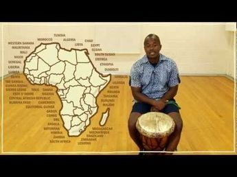Farai introduces you to the djembe and talks about its historical importance to the Mali Empire. For more on music and dancing, visit artsedge.kennedy-....