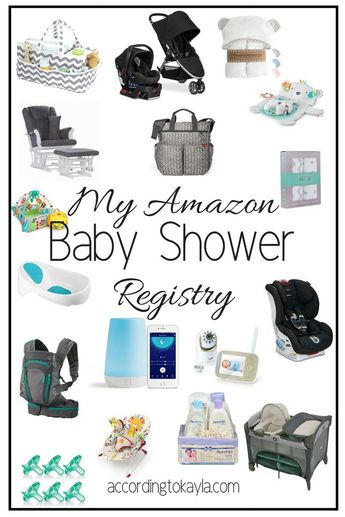 My Amazon Baby Registry