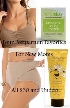 Postpartum Favorites For New Moms