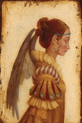 Portrait of Isabella Grimaldi As An Angel