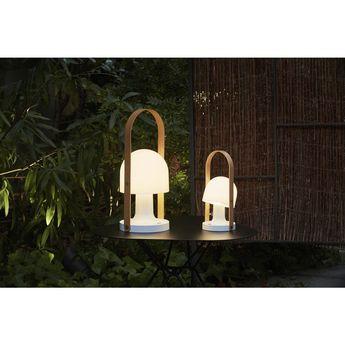 Marset FollowMe Plus Table Lamp | White/Oak