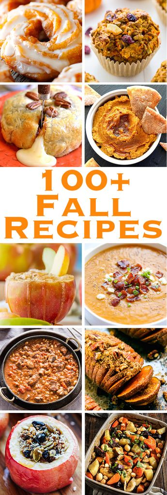 100+ Fall Recipes You Definitely Need In Your Life