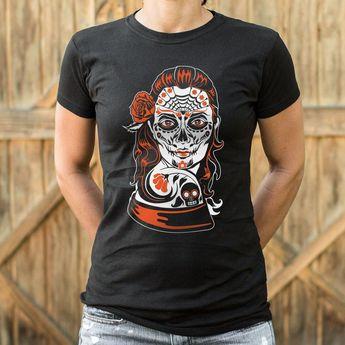 24048d7de Dia de Los Muertos Calavera Sugar Skull [Day of the Dead / All Souls'