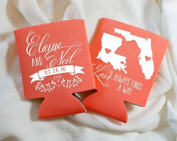 love always finds a way wedding favors long distance wedding favors state to state