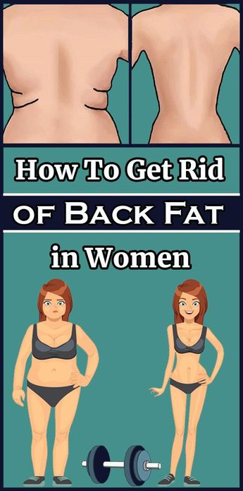 How To Get Rid of Back Fat in Women