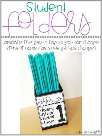 Free Group labels to help keep your close reading folders organized!