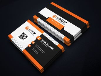 EPS Like Business Card Design Template - Graphic Templates