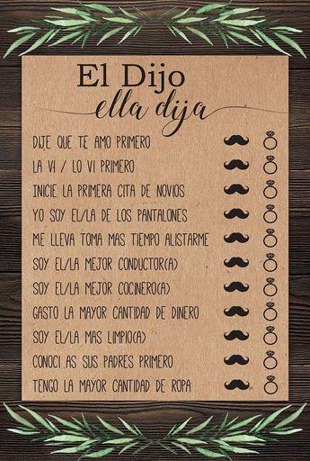 44ce8e3474f9 El Dijo Ella Dija . He Said She Said . Spanish . Despedida . Despedida de