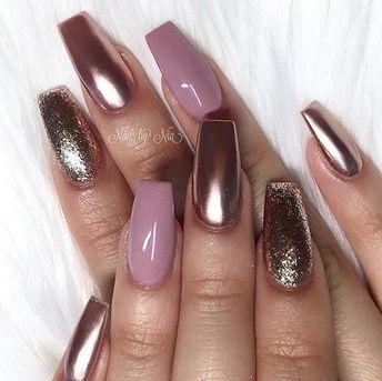 Rose Gold Nails - Nailpro