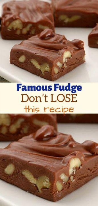 Famous Fudge – Don't LOSE this recipe   allrecipes