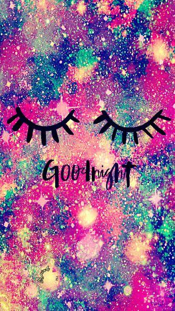 Good Night Galaxy Wallpaper Galaxy Sparkle Glitter Jpg 345x613 Glitter Lockscreen Unicorn Kawaii Galaxy Pretty