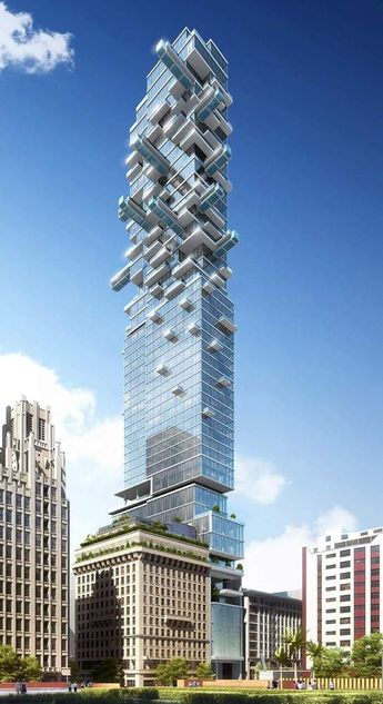 Gallery of Arquitectonica Reveals Tower of Pools for Downtown L.A. in New Renders - 2