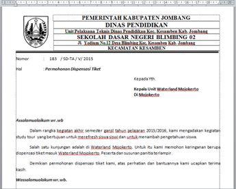 Contoh Surat Keterangan Sakit Dari Dokter Banjarmasin Co