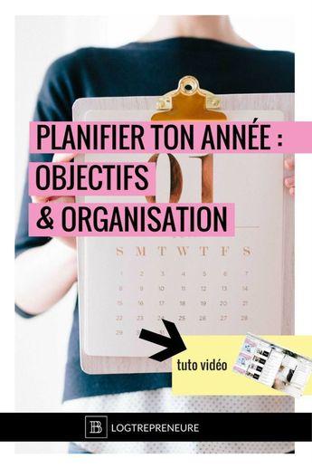 Work Quotes : Dans cette vidéo je vais te montrer le meilleur moyen de planifier ton année