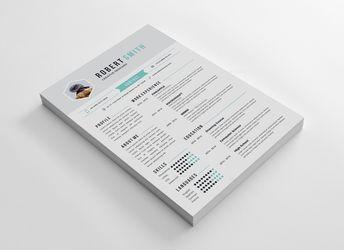 Rome Professional Resume Design Template - Graphic Templates