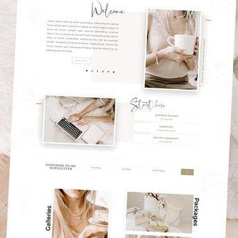 ParisianGirl-Wordpress Genesis Theme by Adalaine Design on @creativemarket