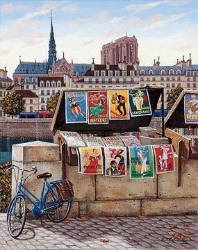 Une dame aime Paris - En bateau, Lakevio !