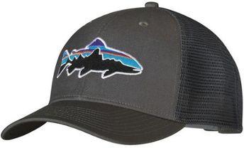 8bca7716d890a Patagonia Fitz Roy Frostbite Trucker Grey Snapback Cap Hat 38201