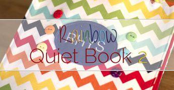 Rainbow Quiet Book 2