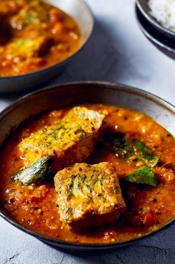 Sri Lankan Tomato Fish Curry