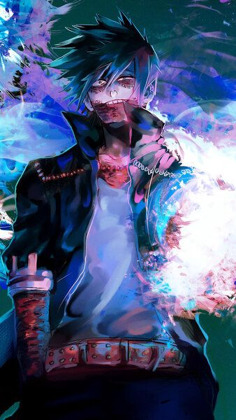 Dabi Wallpaper Desktop Ideas And Images Pikuv