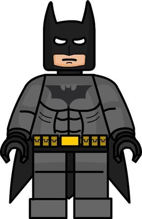 Lego Batman for closet door