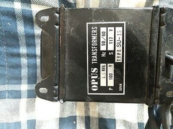 (Sponsored)(eBay) OPUS Step Up Auto Transformer, 1.5Kva, 117v Japan, Type SU-15