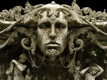 Kris Kuksi (detail) mix media sculpture