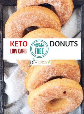 Sugar Free Low Carb- KETO Donuts | Diet Plus 4 U